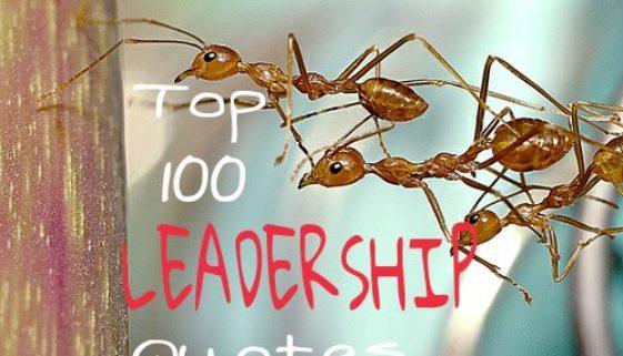 Top 100 Leadership Quotes ( Inc. Magazine repost )